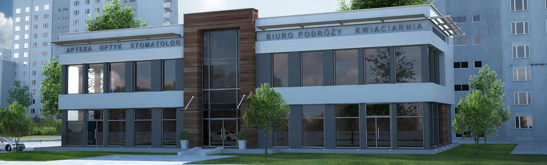 Budynek biurowo-handlowy klasy PREMIUM